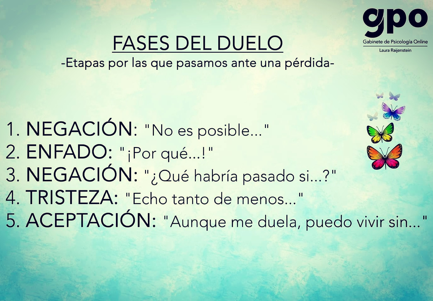 Fases del Duelo