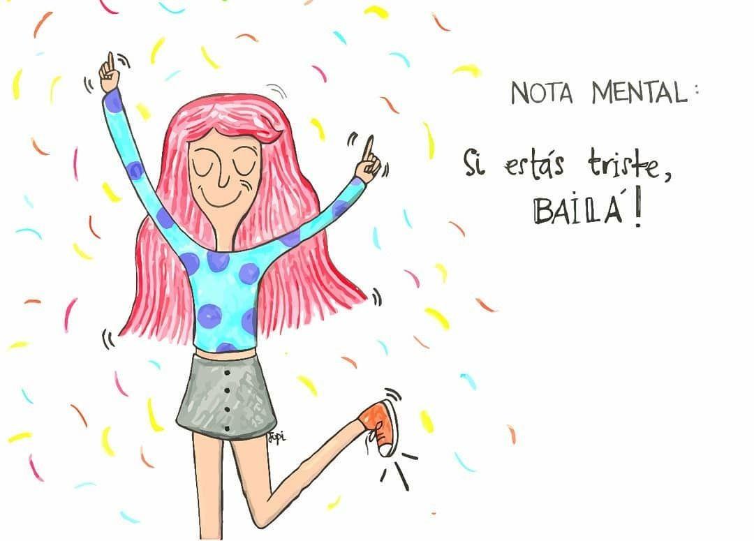 Hormonas de la Felicidad Bailar